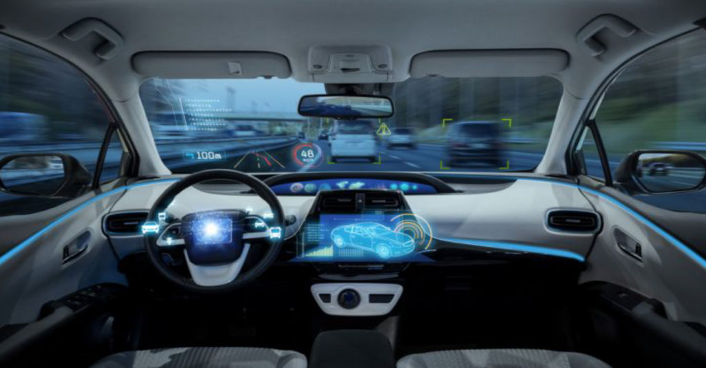 Shared space: autonomous cars